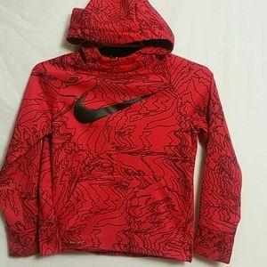 Nike Dri fit Boys Small Hooded Sweatshirt